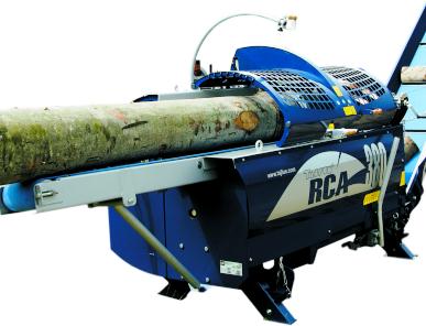 Процессор для производства дров RCA-380, массивная тяжелая конструкция