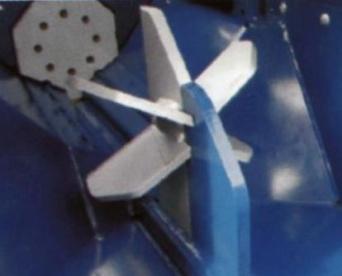 Процессор для производства дров RCA-380, упор для ножа