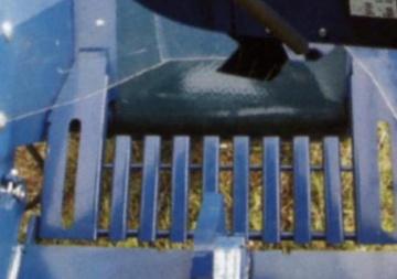 Процессор для производства дров RCA-380, решетка для опилок