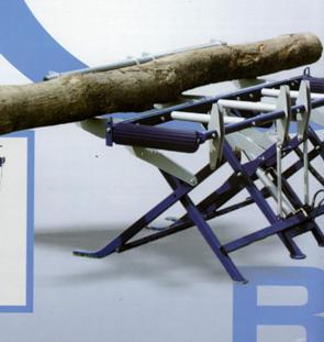 Процессор для производства дров RCA-380, складной подъемник