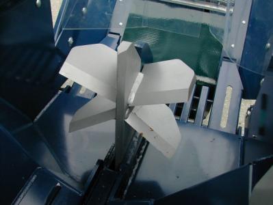 Процессор для производства дров RCA-380, дополнительный расклинивающий нож на 6 или 8 частей